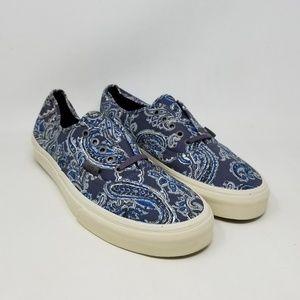 Vans Authentic CA Paisley Charcoal Sneakers Men 11